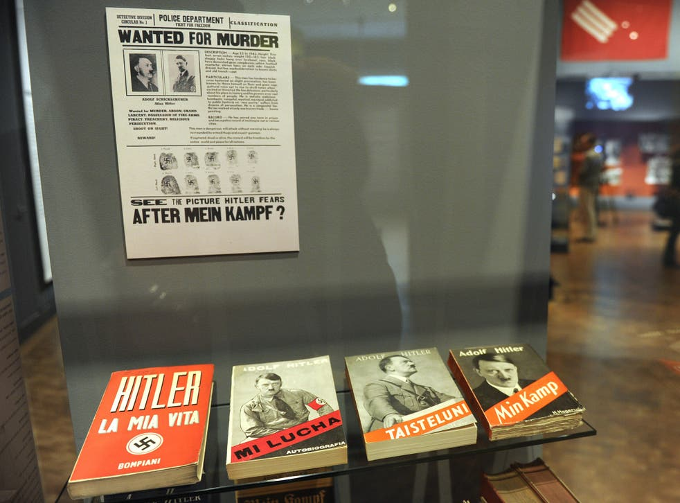 Mein Kampf will soon be returning to German bookstores from the Alps to the Baltic Sea