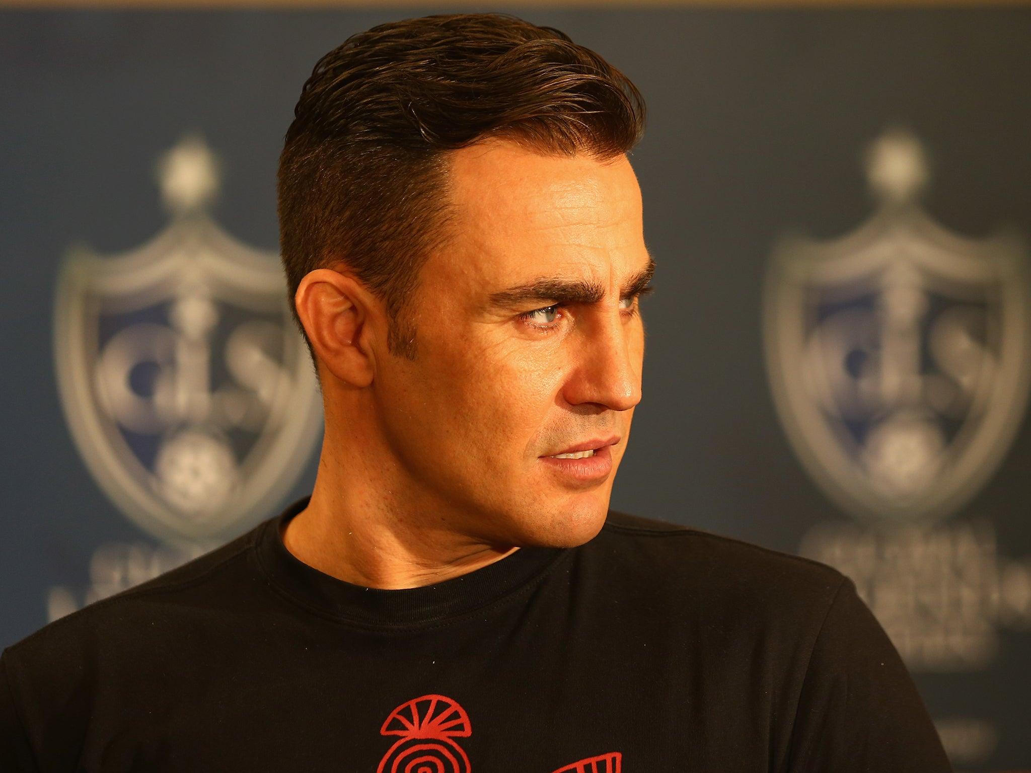 Fabio Cannavaro given jail sentence World Cup winning captain