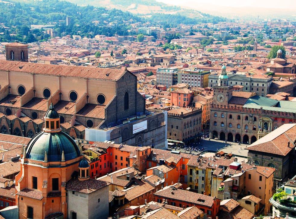 Bologna, Emilia Romagna's capital. Ndrangheta had spent decades infiltrating the region