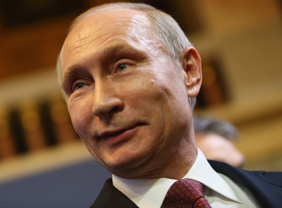 Russian President Vladimir Putin, pictured in Budapest last week