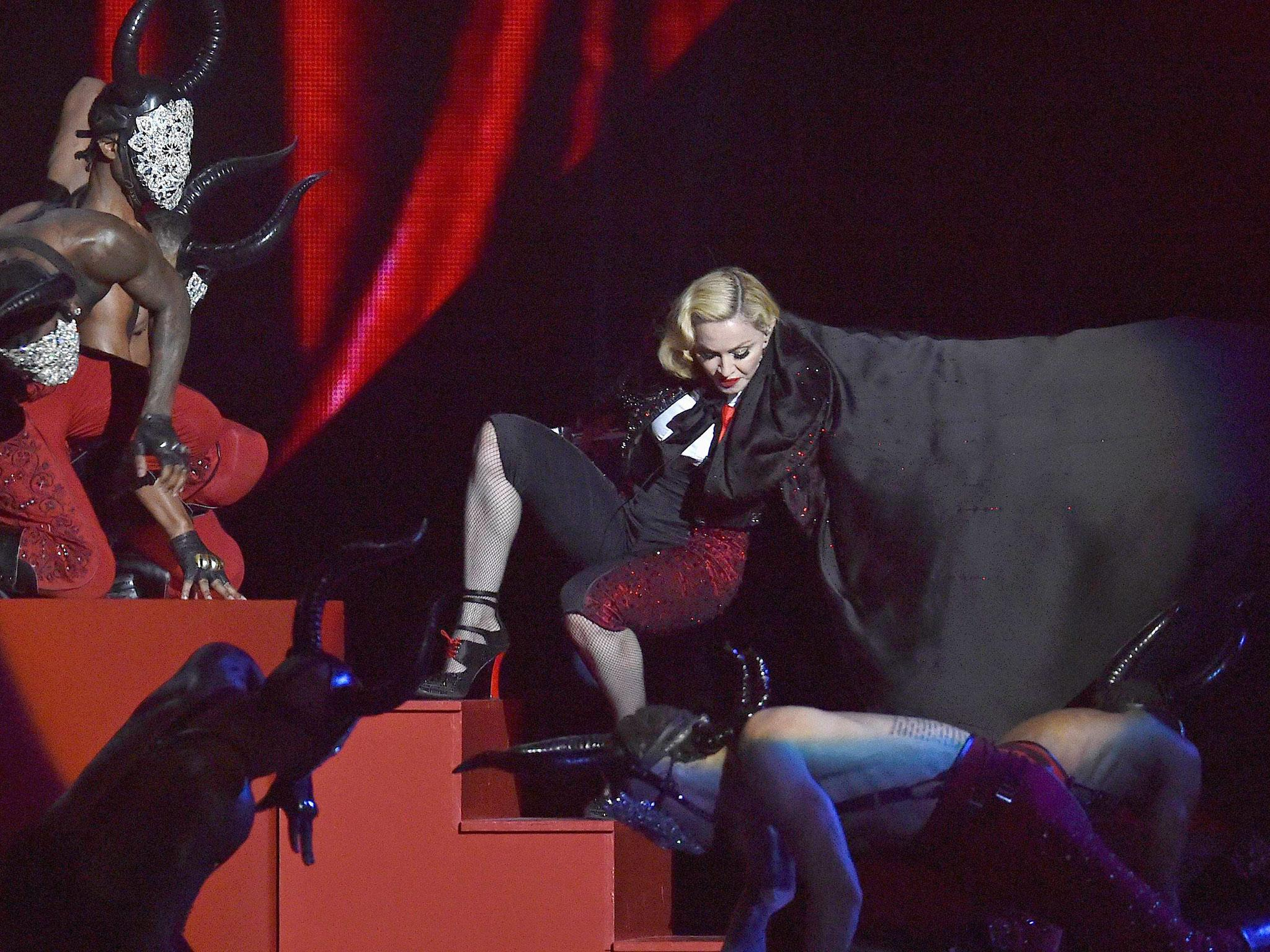 Thoughts armani madonnas brit awards fall