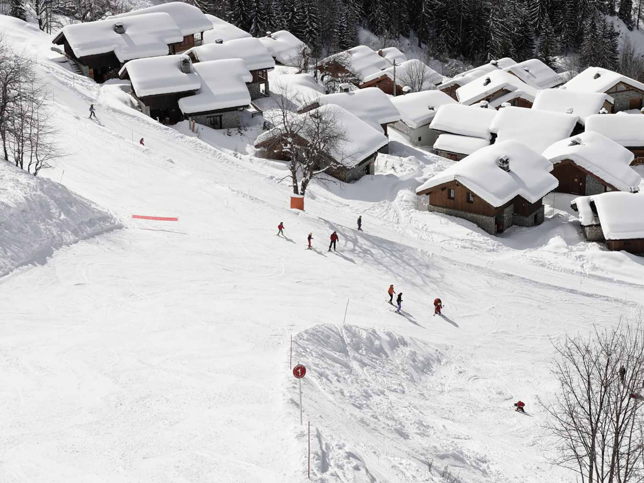 sainte-foy skiing: charming, child-friendly, and uncrowded   the