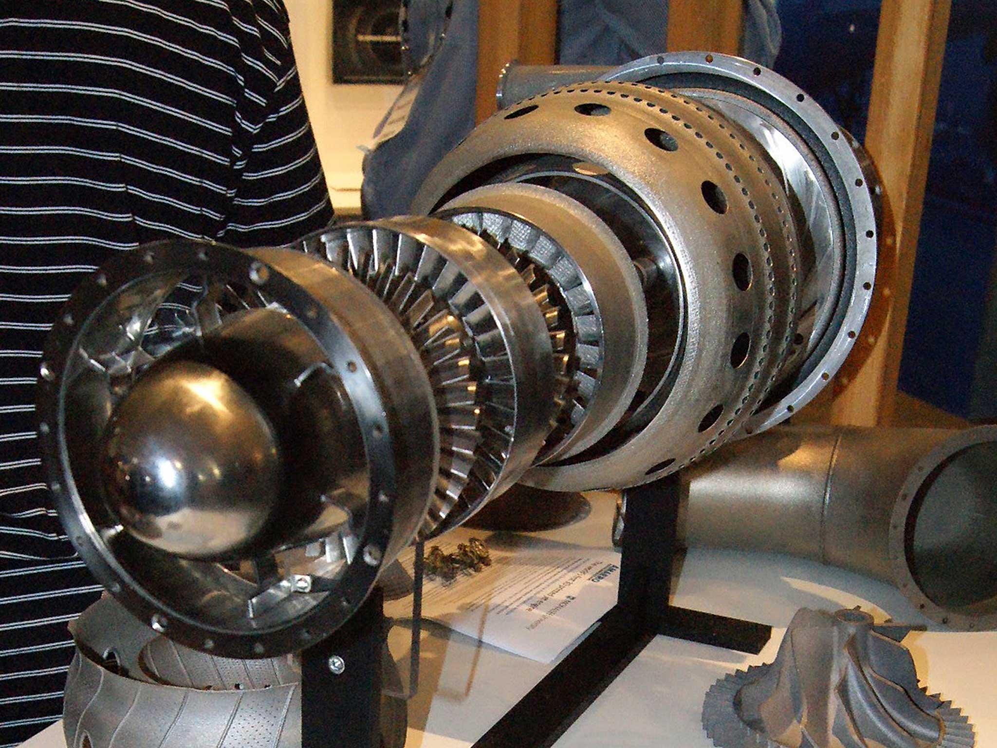 3D Printer Creates Jet Engine In World First