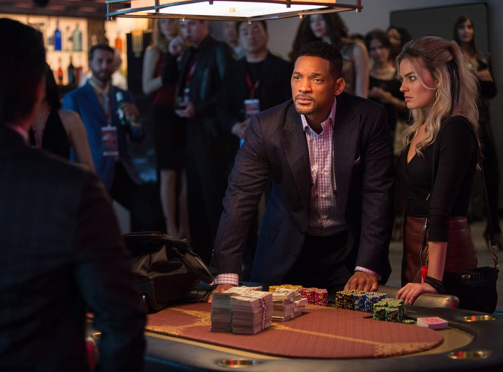 Will Smith and Margot Robbie star in 'Focus'