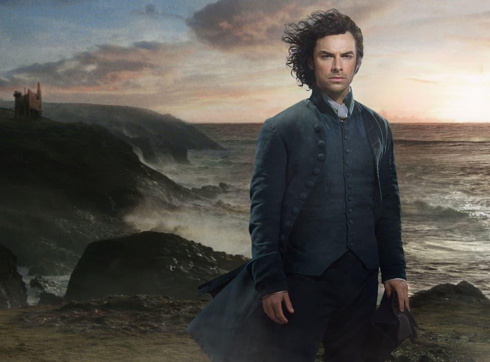 Natural beauty: Aidan Turner stars in the new series of Poldark