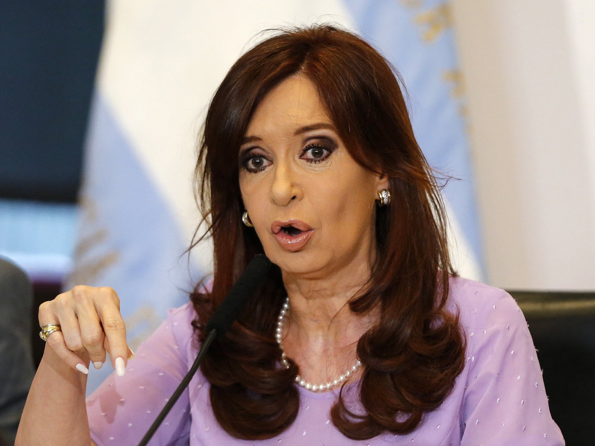 Judge ends 'cover-up' case against Argentina's President <b>Cristina Fernandez</b> ... - Cristina-Fernandez