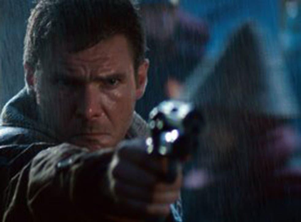 Harrison Ford in the Blade Runner original