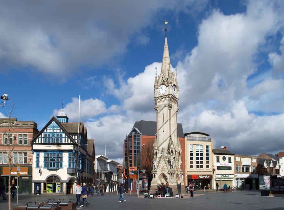 Leicester's Haymarket Memorial Clock Tower