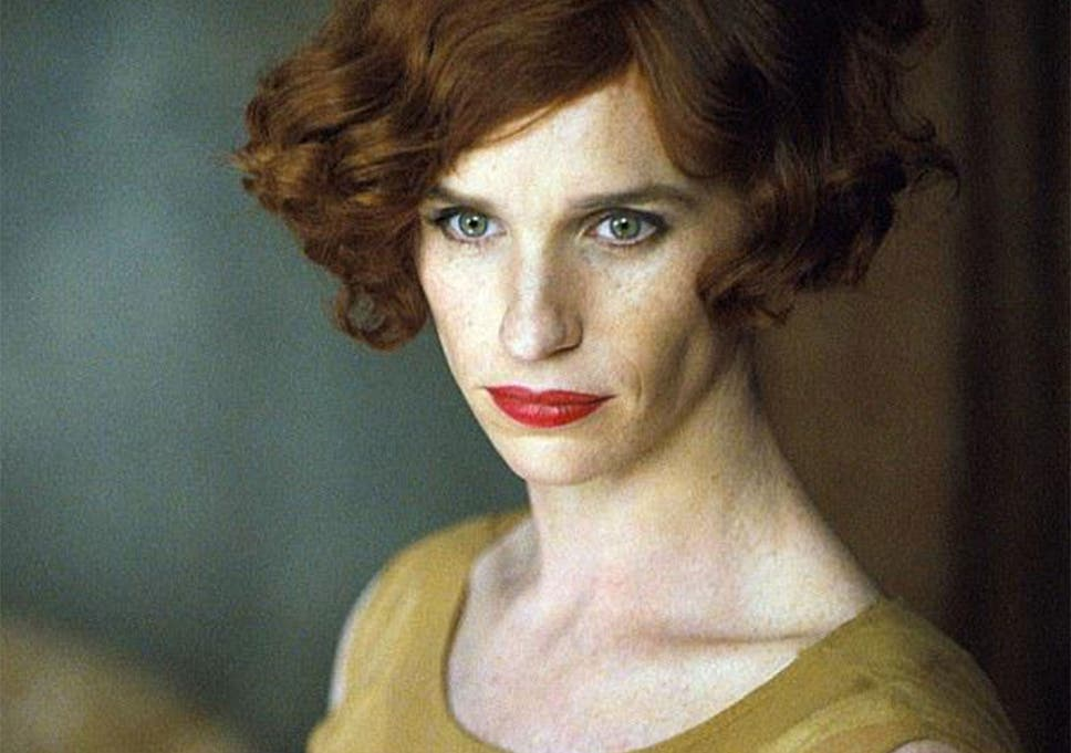 Eddie Redmayne as transgender artist Lili Elbe in The Danish Girl