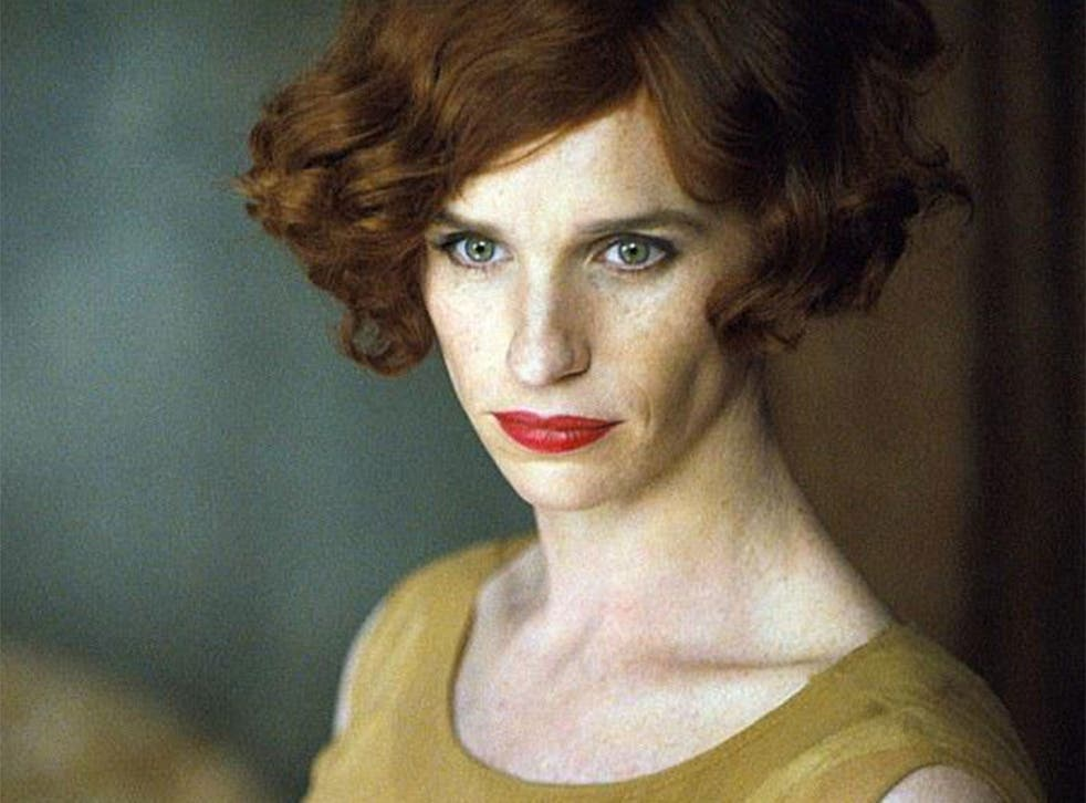 Eddie Redmayne as transgender artist Lili Elbe in The Danish Girl