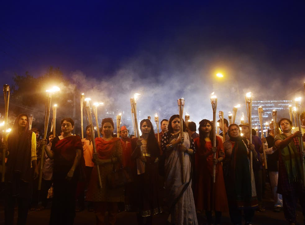 Students and teachers have protested in Dhaka after Avijit Roy was hacked to death