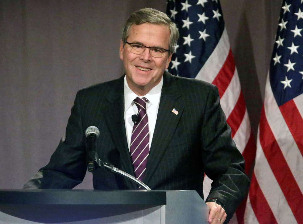 Jeb Bush has faced Republican accusations he lacks the conservative credentials to lead them