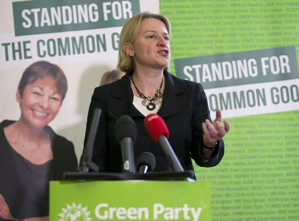 Austrialian-born Natalie Bennett was elected leader of the Green Party in September 2012