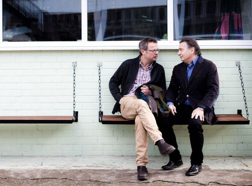 New benchmark: Chefs Hugh Fearnley-Whittingstall (left) and Raymond Blanc