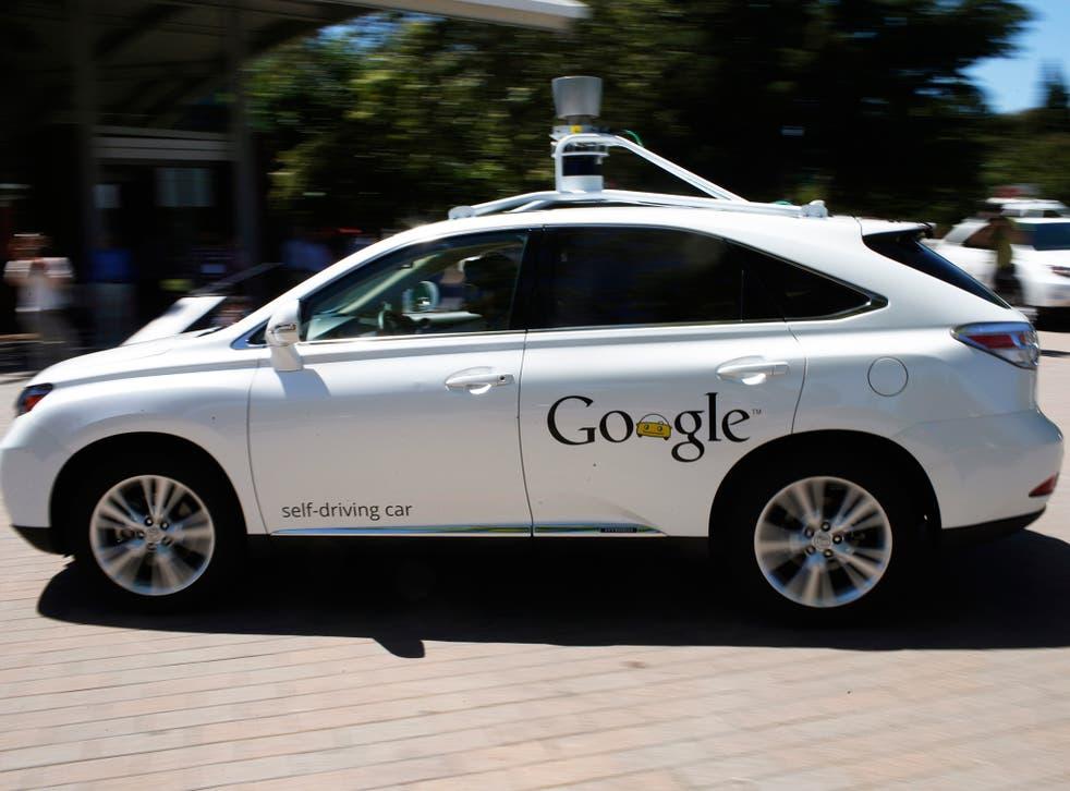 Google's Lexus RX 450H Self Driving Car