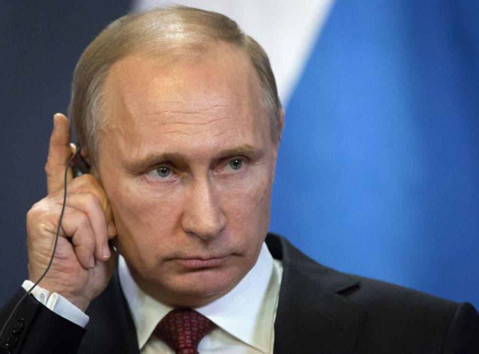 Vladimir Putin said Russia 'did what we had to do' seizing Crimea