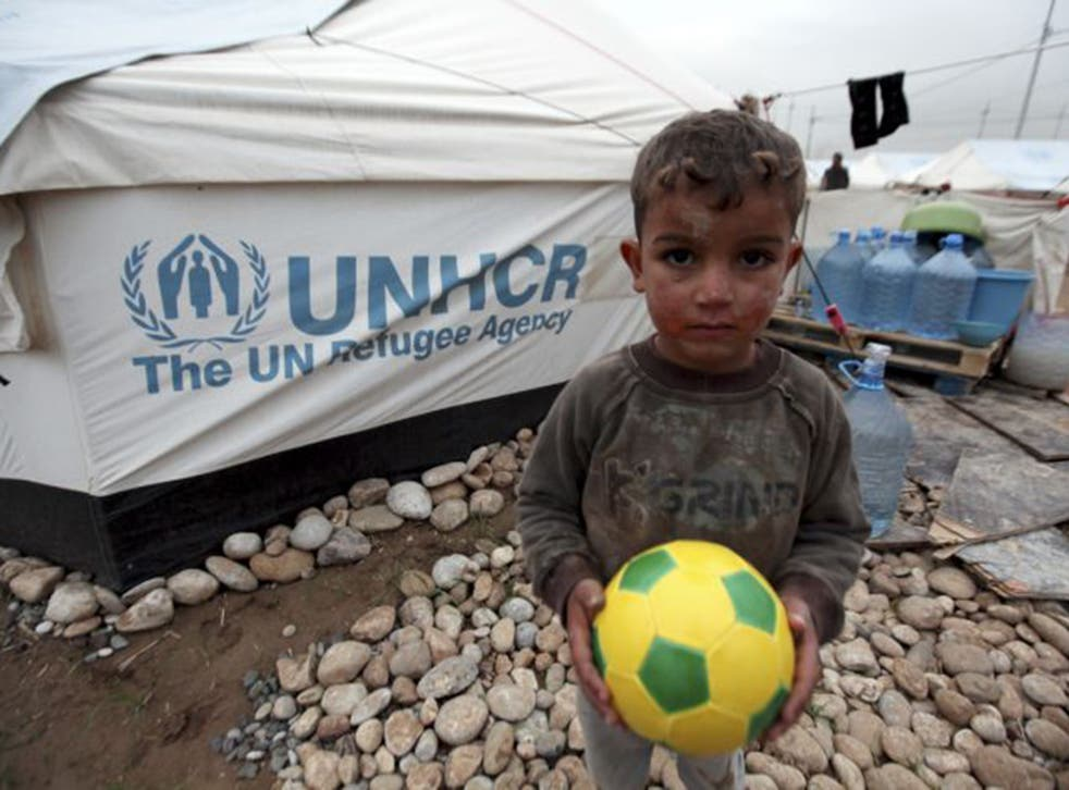 The record number of refugees last year was largely driven by the Syrian civil war