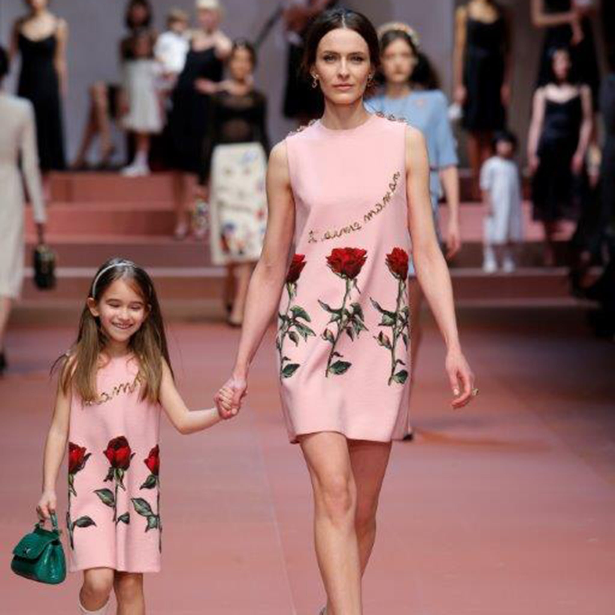 c31d0f709d8d Mother s day 2015  Dolce and Gabbana style during Milan Fashion Week ...