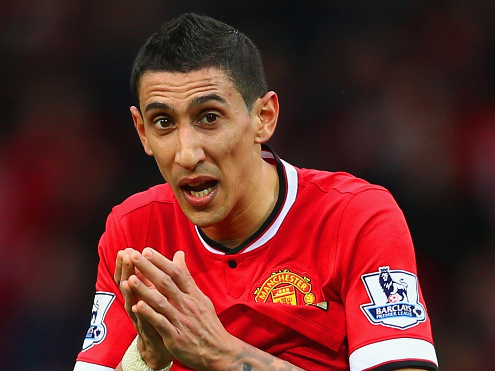 Angel Di Maria was sold to Manchester United because he was too