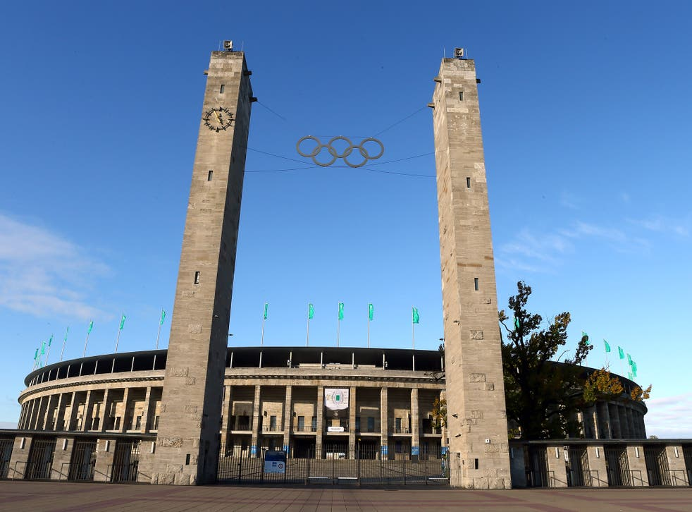 A view of the Berlin Olympic Stadium