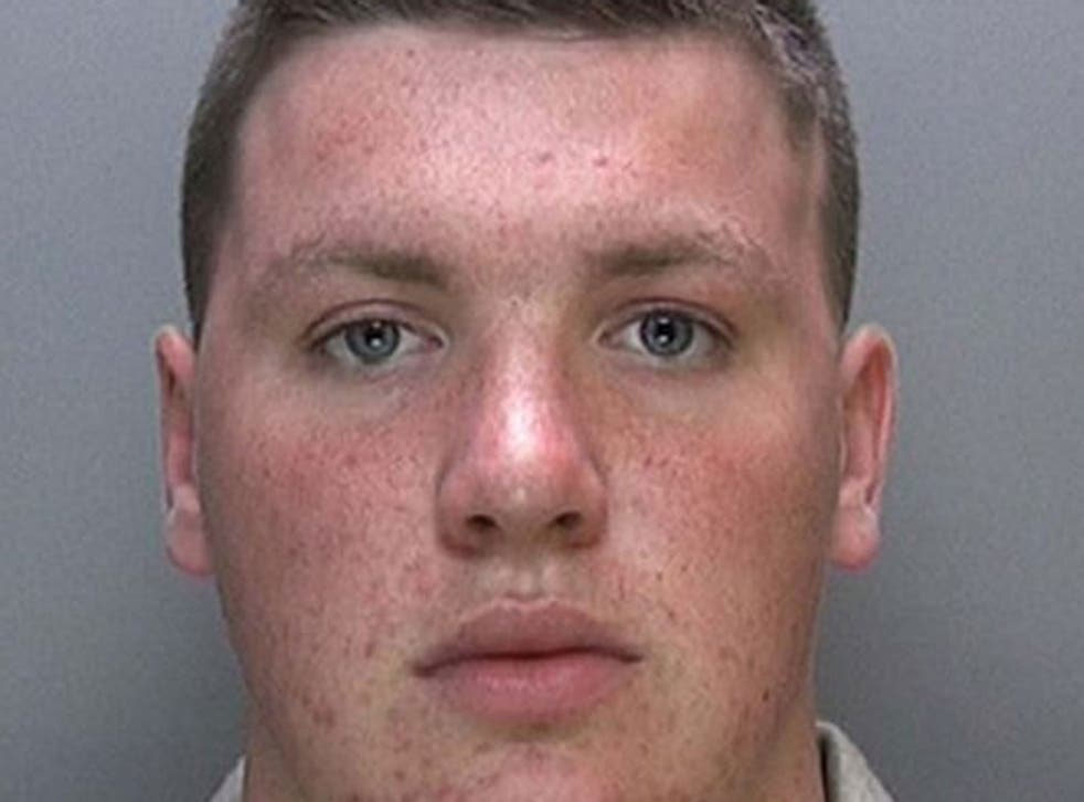 Charles Mann, 21, who stabbed his mother 11 times