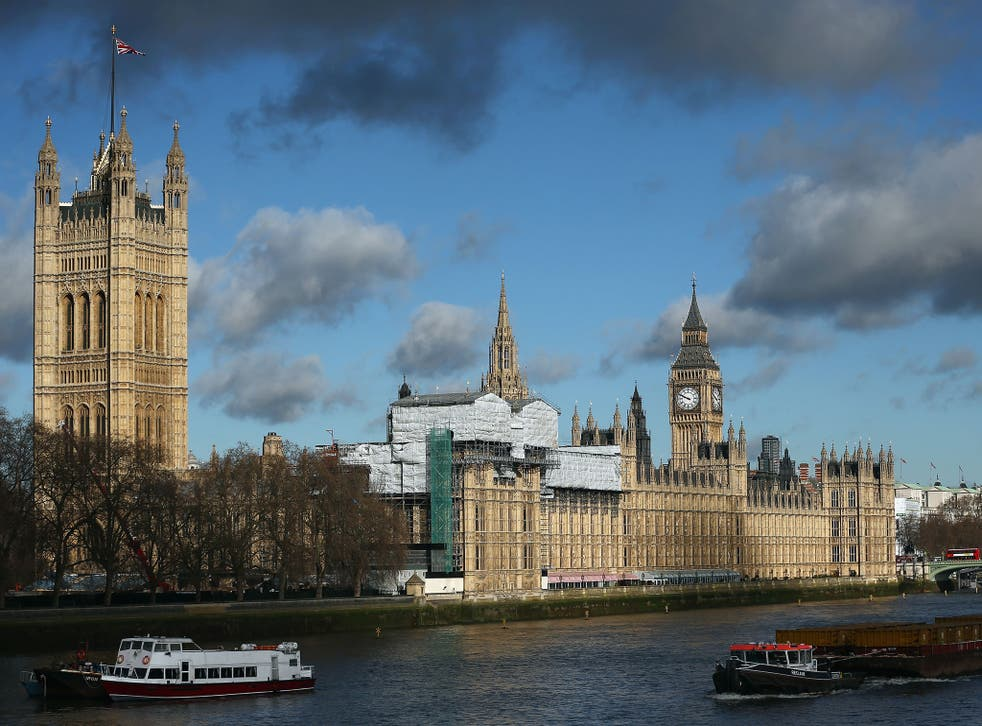 The Palace of Westminster is falling down, according to John Bercow