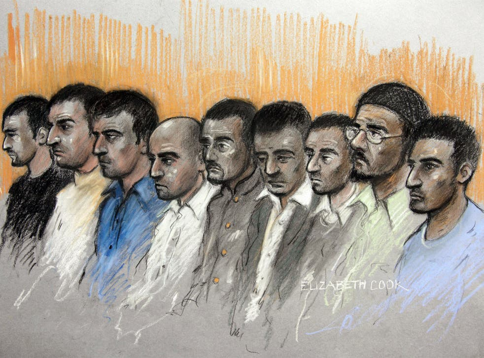 Seven out of the nine men on trial in 2013 were found guilty of abusing girls in Oxford - two were acquitted of all charges