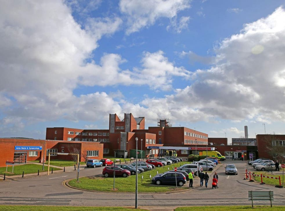 A general view of Furness Hospital in Barrow, Cumbria, which is at the heart of the Morecambe Bay Investigation.