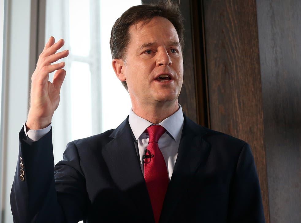The Lib Dem leader will claim the war on drugs has failed
