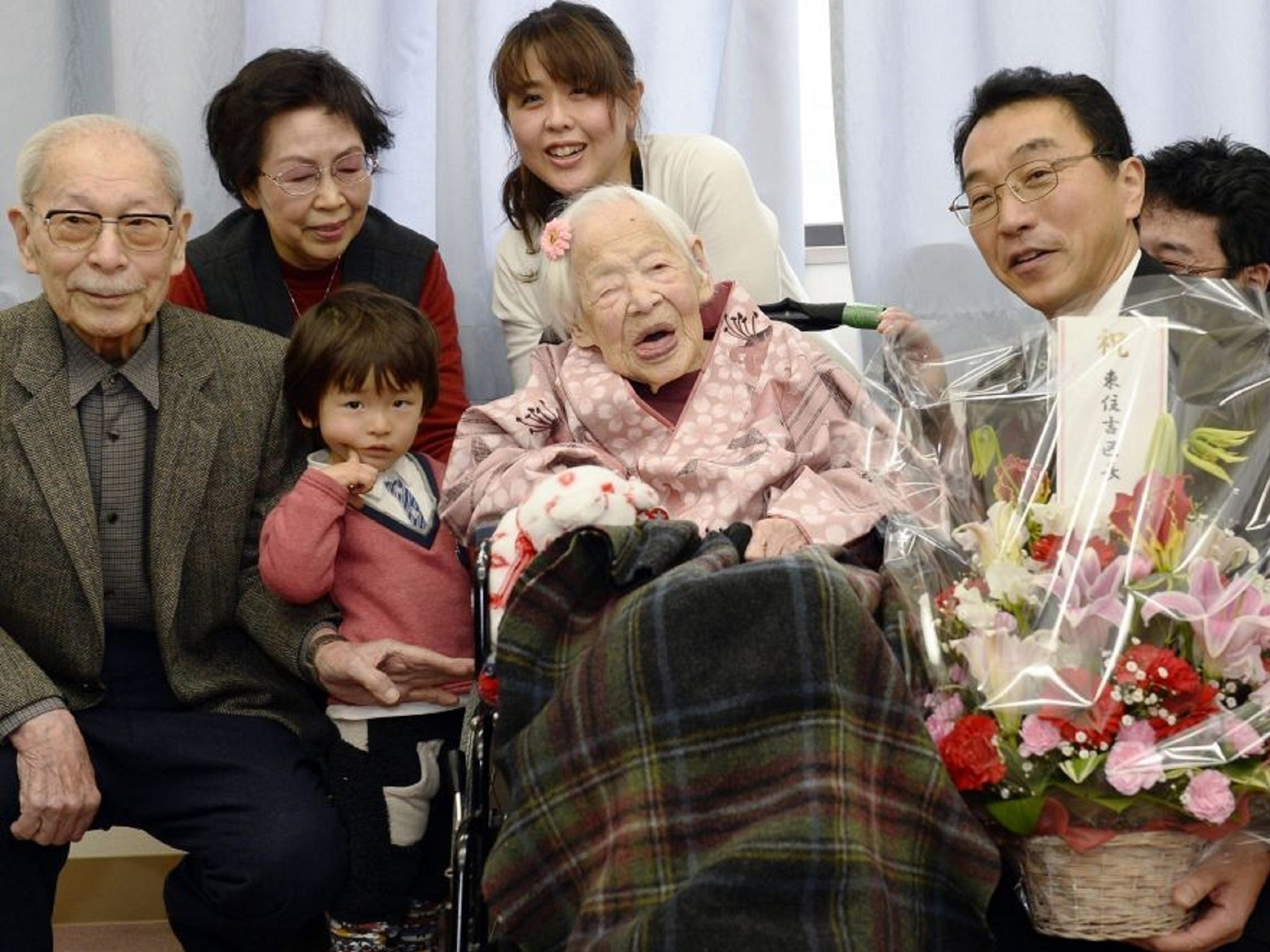 World's oldest person Misao Okawa dies at the age of 117