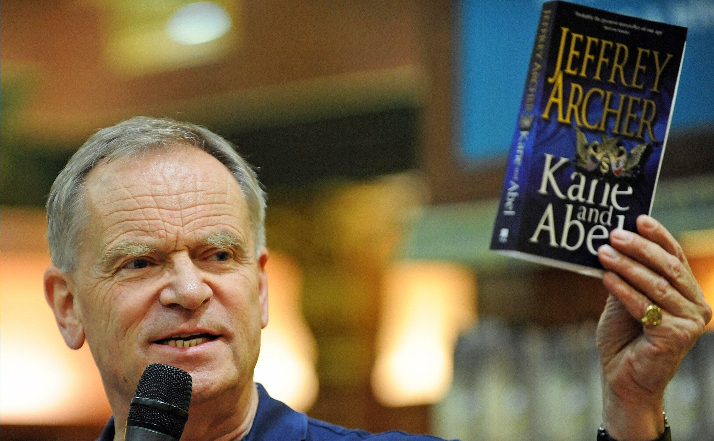 Jeffrey Archer accuses...