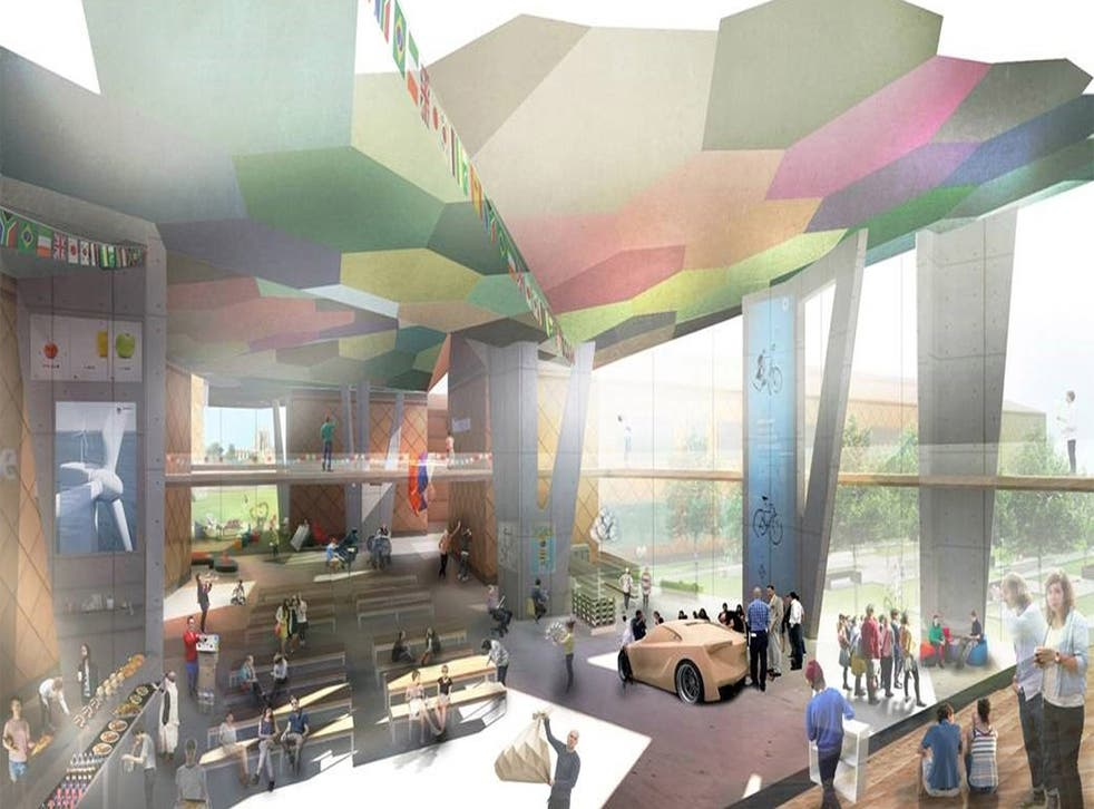 How the new university in Hereford will look