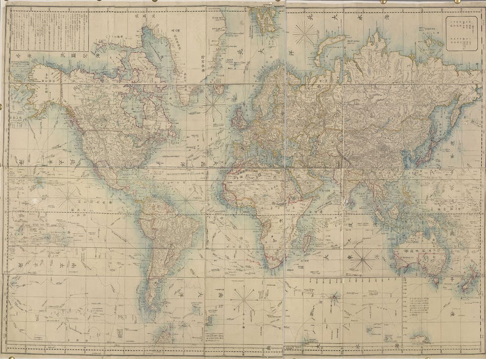 An image based on Mercator's projection