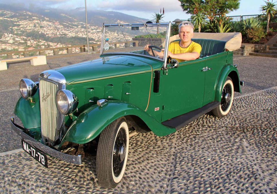 Madeira Vintage Car Tour Around The Floating Garden In The