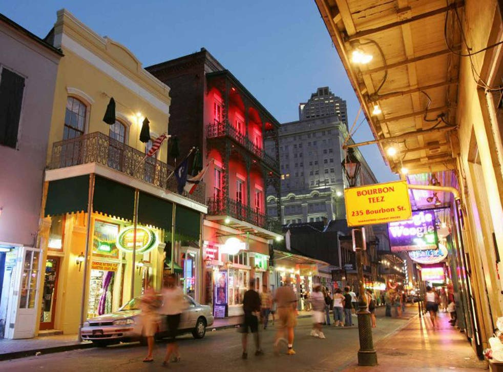 Evening merriment ranges from the brash bars of Bourbon Street to classic Creole restaurants such as Brennan's