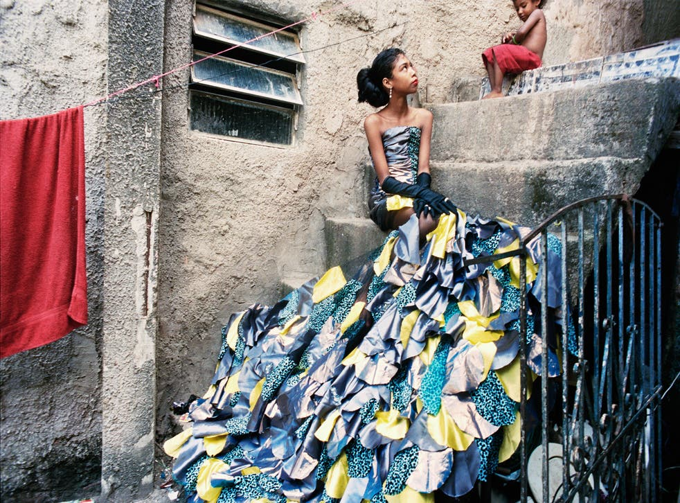 'The Hollywood Star': Milena, 12 years old, photographed in the favela of Rocinha, 2012