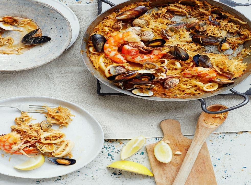 If you like paella, you'll love Catalan dish fideua