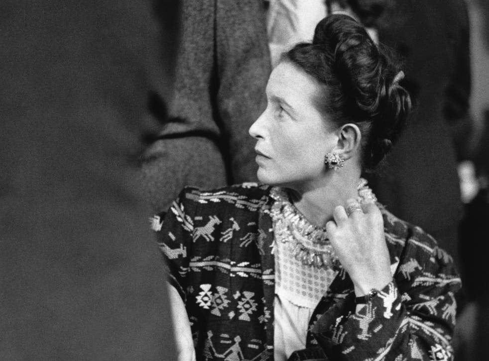 Life-changing: Simone de Beauvoir in 1947, two years before she wrote 'The Second Sex', credited as the starting point of second wave feminism