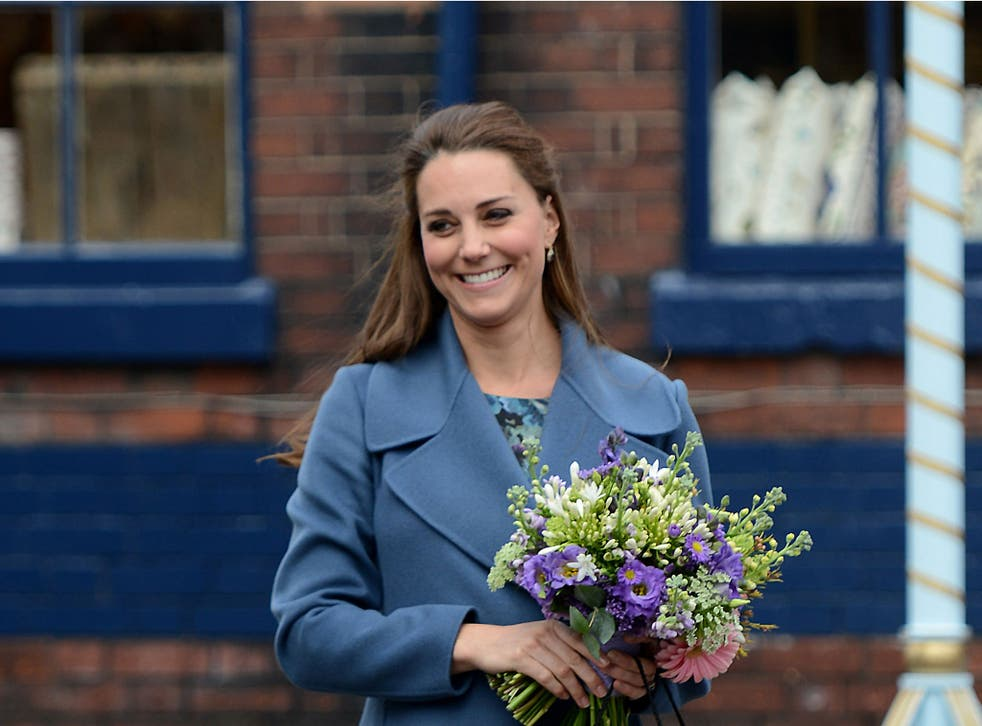 Kate is expecting her second child