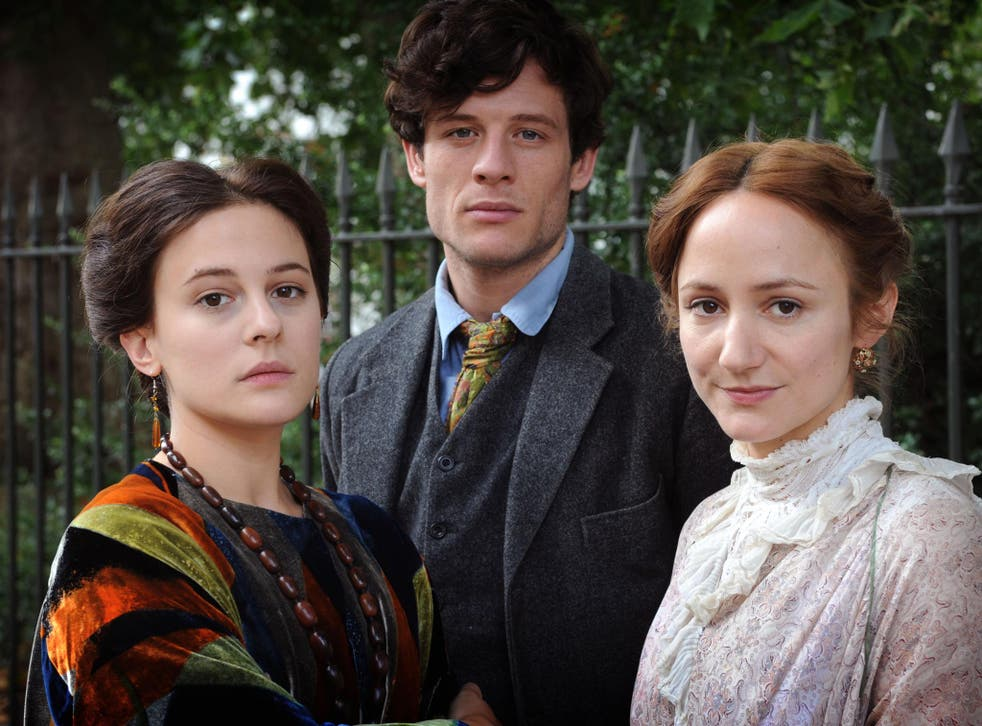 Phoebe Fox, James Norton and Lydia Lynch in 'Life in Squares'