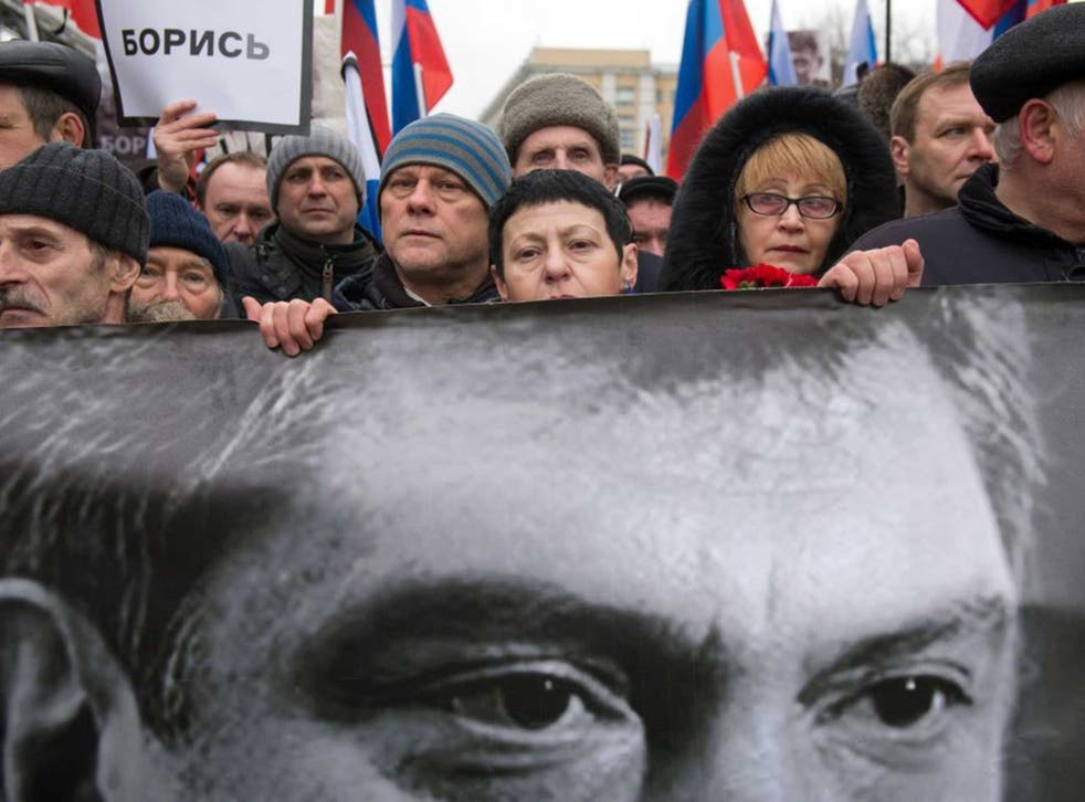 Protesters took to the streets in the days following Boris Nemtsov's murder