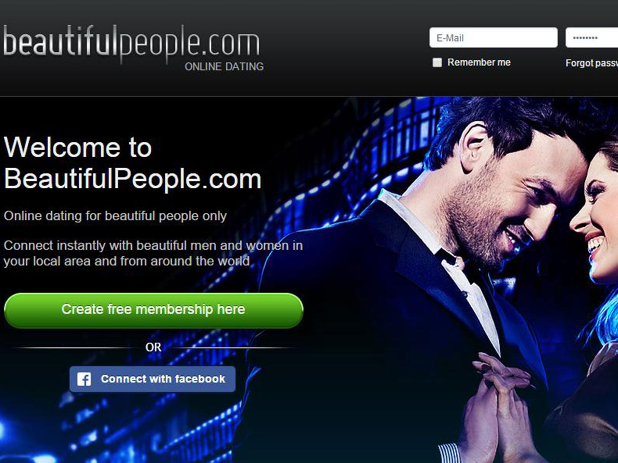 Www beautifulpeople com register
