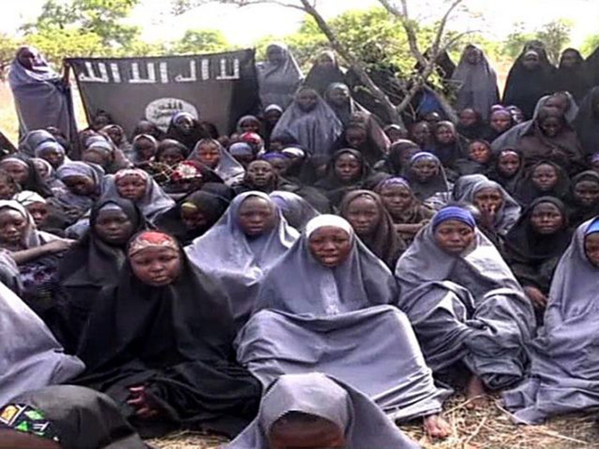 Image result for 21 Chibok girls reportedly rescued from Boko Haram