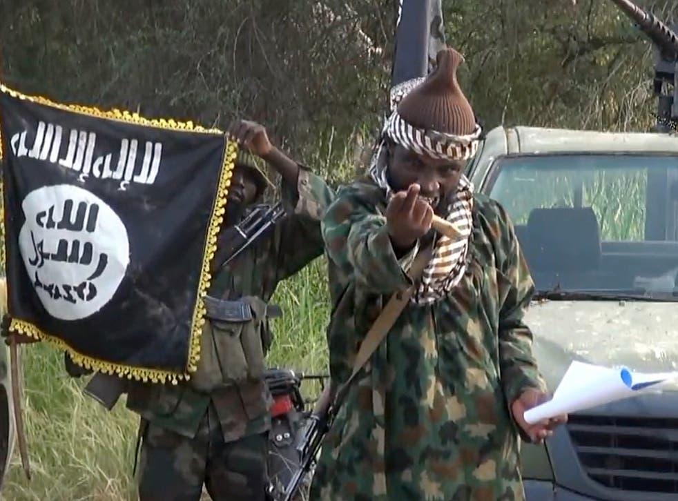 Boko Haram's leader Abubakar Shjeka