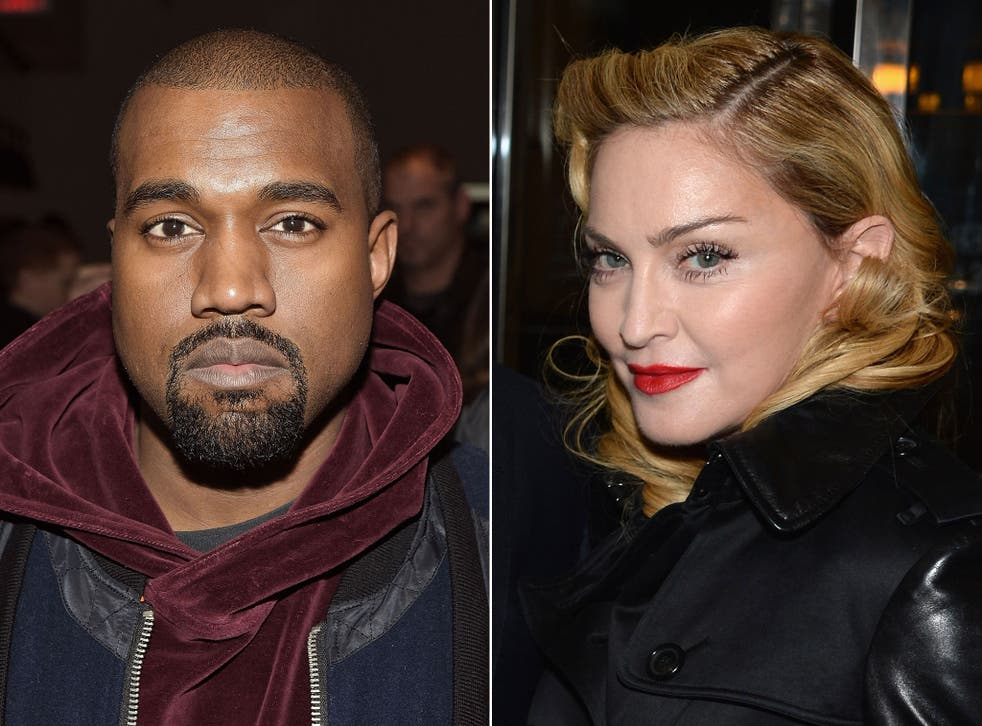 Kanye West and Madonna are 'comrades' in breaking musical boundaries, apparently
