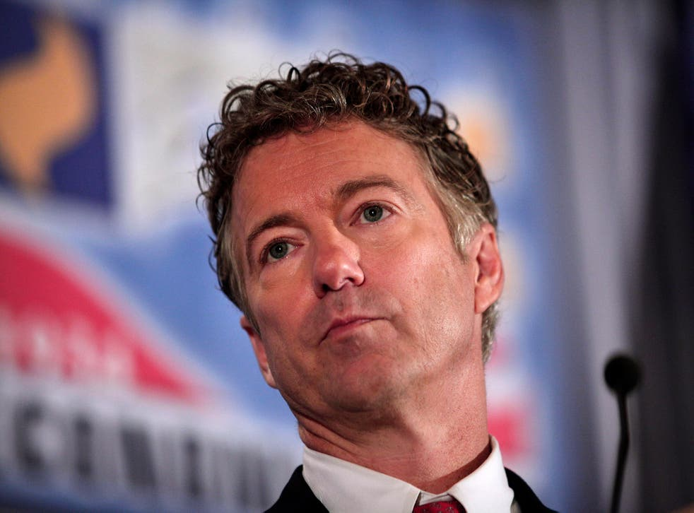 """Senator Rand Paul said calling same-sex unions marriage """"offends"""" him and others"""