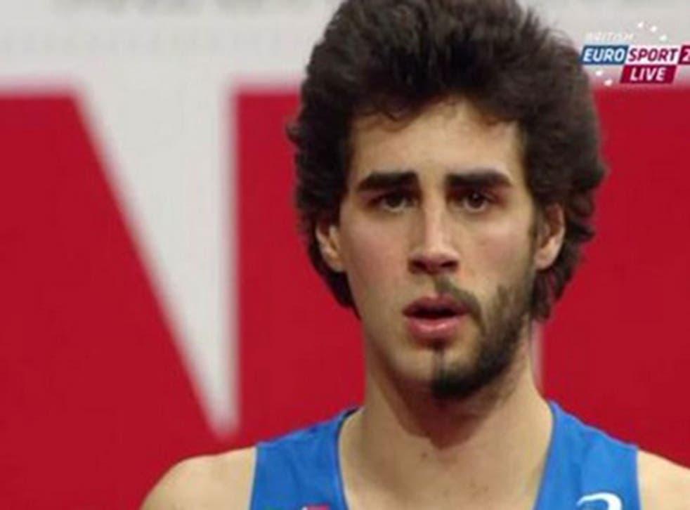 GianmarcoTamberi and his half beard