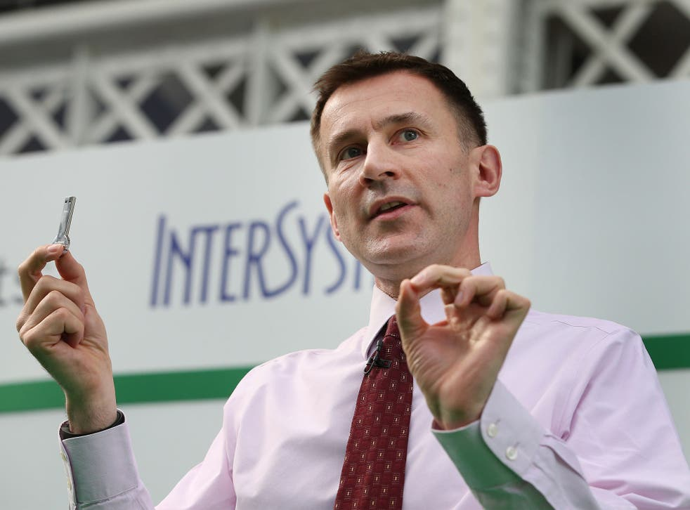 Health Secretary Jeremy Hunt has been accused of undermining his own plan for a 'transparency revolution' in the NHS by refusing to publish a report said to be critical of the Government's handling of the health service