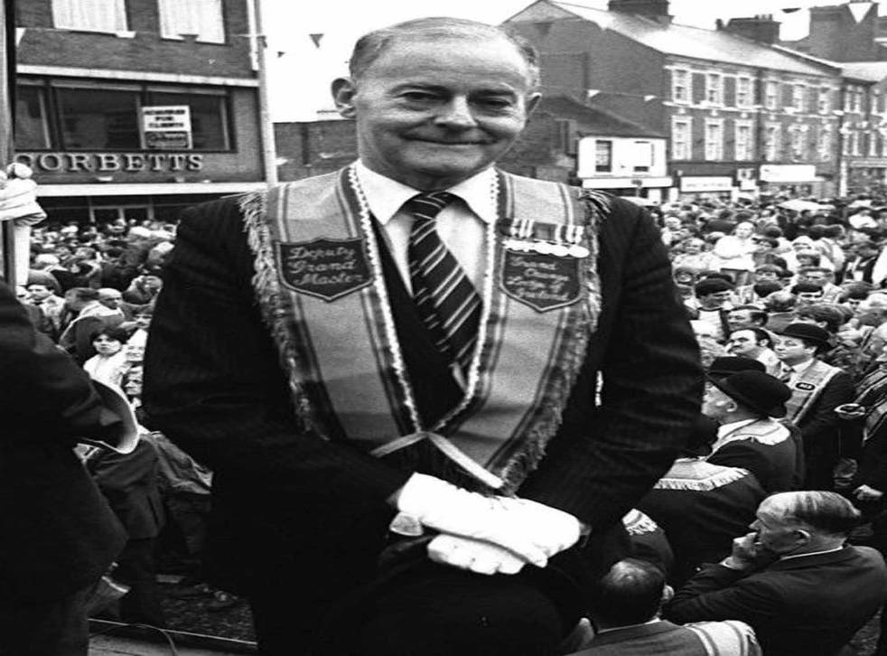 Molyneaux in 1985: when he was described as the 'dull dog' of politics he was delighted rather than offended