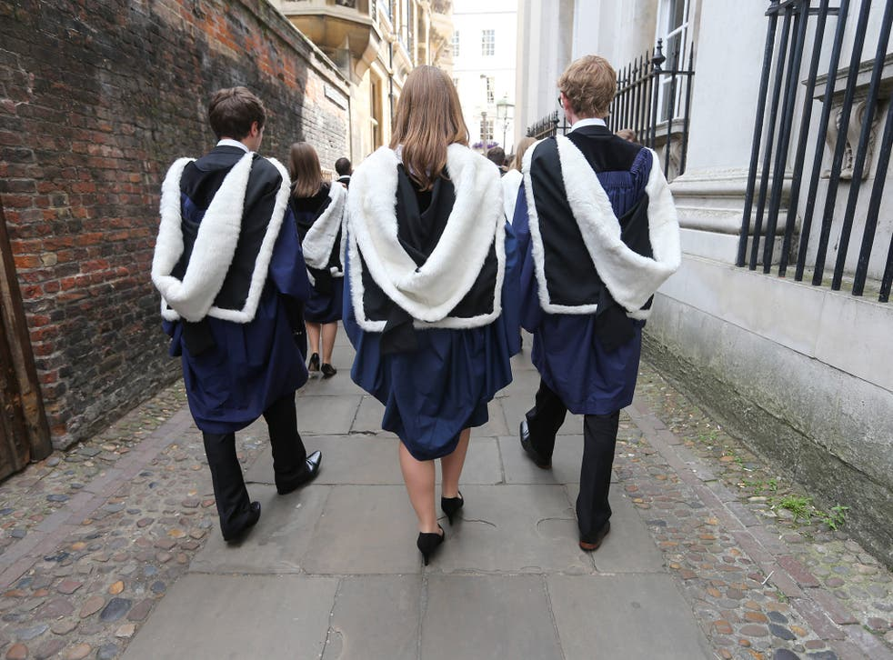 A new study reveals the proportion of first class degrees handed out by Cambridge each year has risen from 10 per cent in 1960 to 24 per cent in 2014